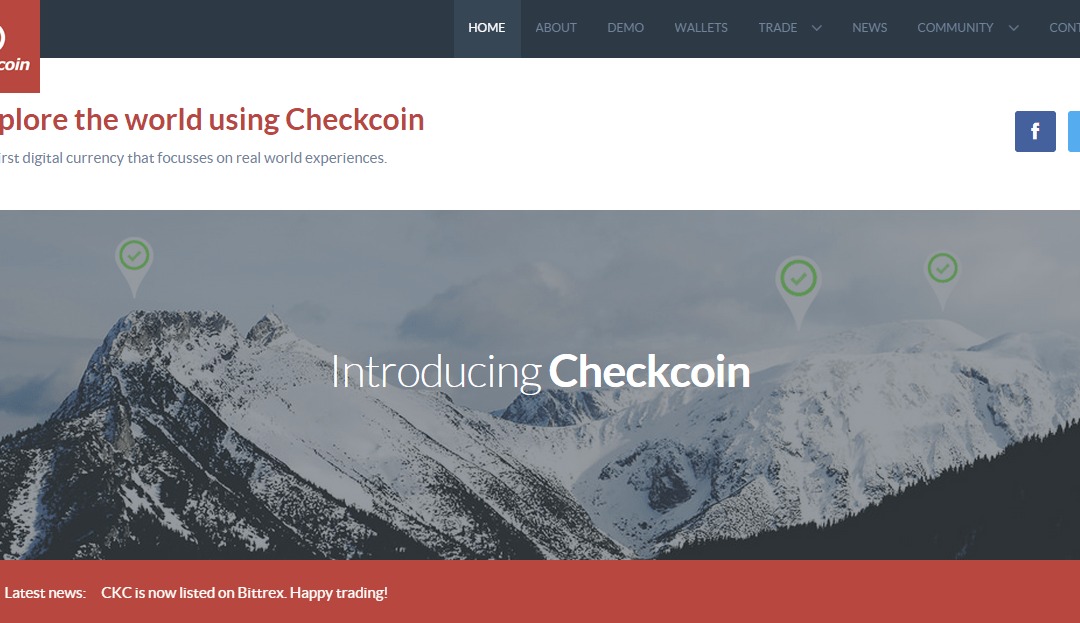 Bitcoin Payment Company BitSend Launches GPS Check-in Cryptocurrency Checkcoin CKC