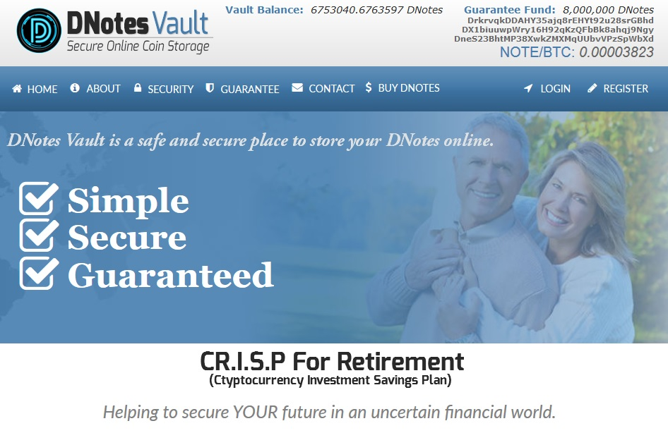 CR.I.S.P. For Retirement Screenshot
