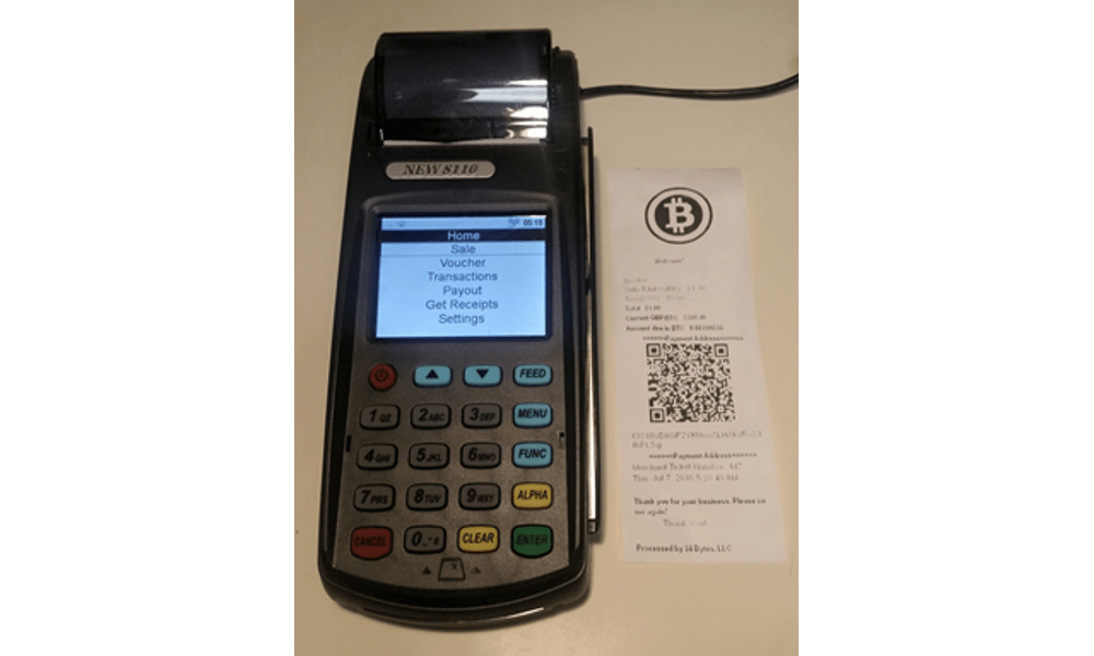 34 Bytes Announces New Bitcoin POS Terminal, Offers Merchants a Chance to Win a Free Fully Functioning Unit