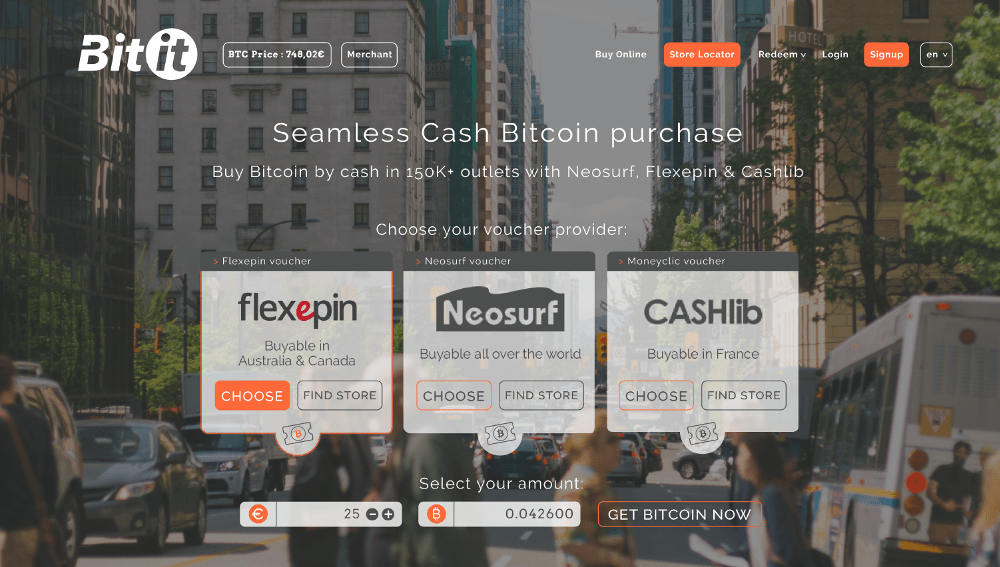 Bitit's New Partnership with Cashlib Adds Over 35000 Instant Bitcoin by Cash Purchase Outlets in Europe