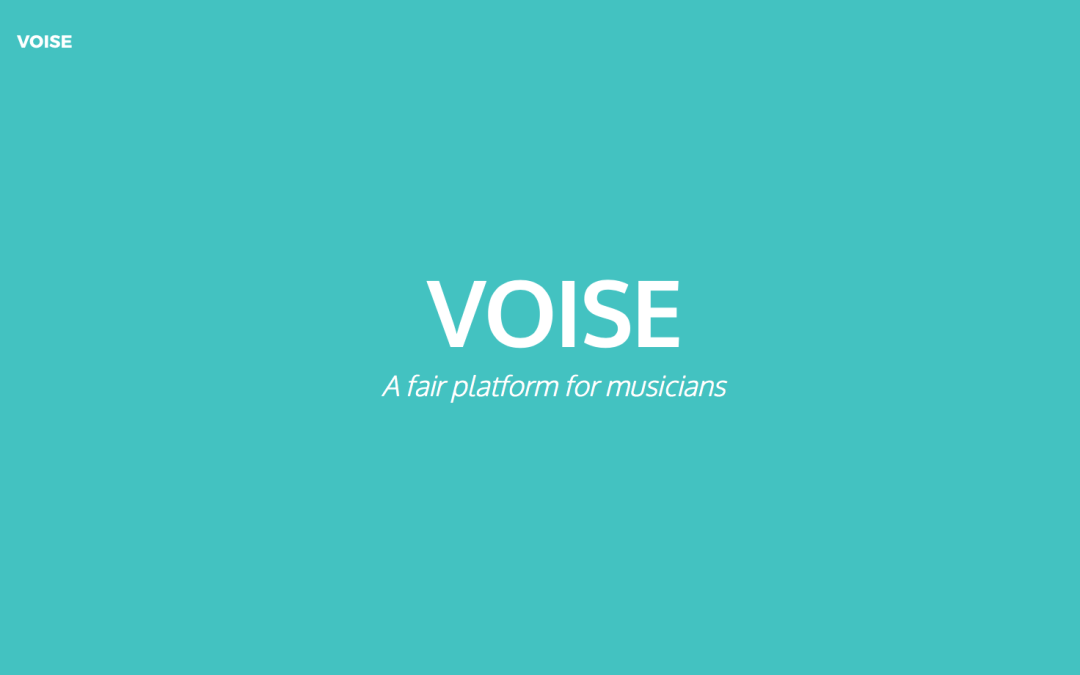 VOISE Ethereum Music Sharing and Monetization Platform Announces ICO Crowdsale