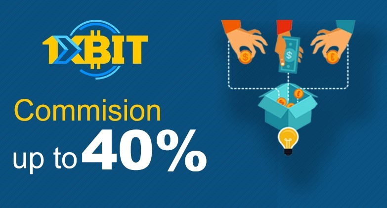 1xBit Offers Higher Commissions in New Affiliate Program