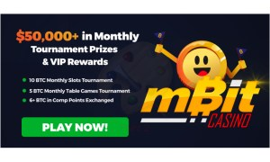 Bitcoin PR Buzz MBit Casino Monthly Tournaments 2