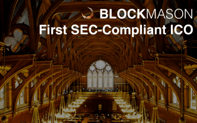 BlockMason Announces First SEC-Compliant Public American ICO