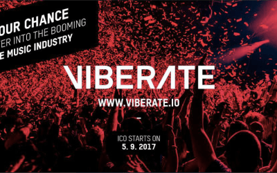Viberate.io Enables Cryptocurrency Payment for Live Music Artists, ICO Starts September 5, 2017