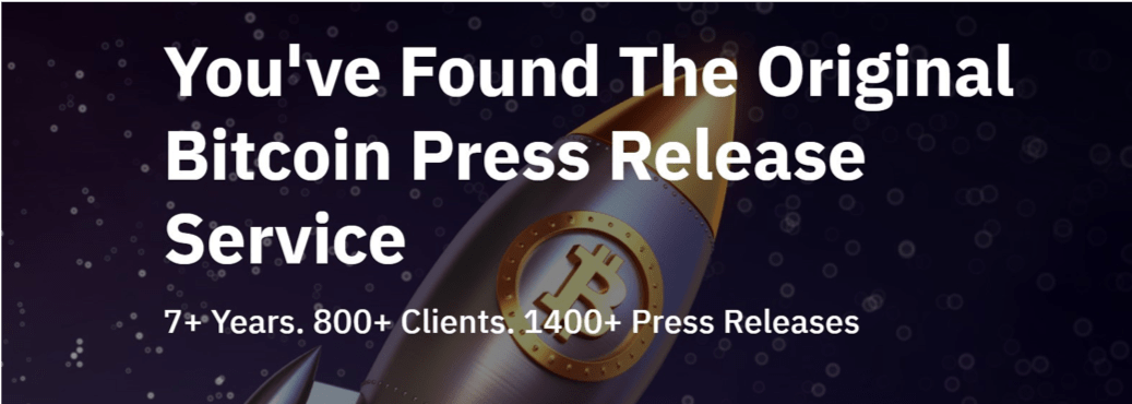 Bitcoin PR Buzz Press Release