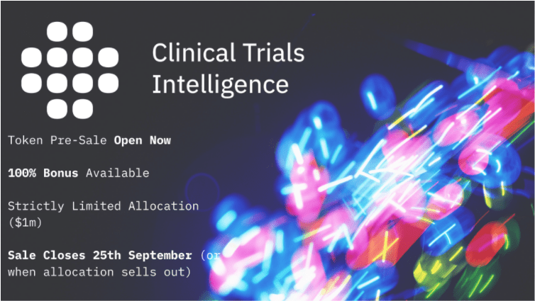ClinTex's Ongoing CTi Presale Gives Unparalleled Access to the $350bn Medical Trials Market