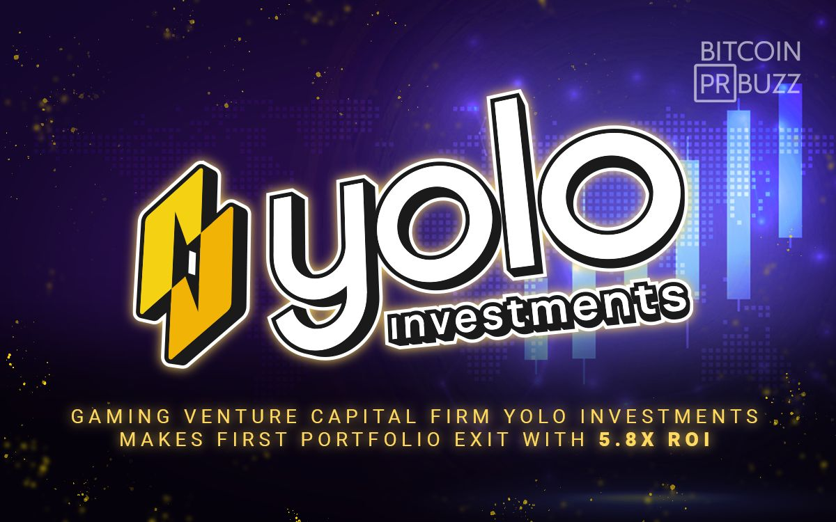 Yolo Investment Firm Makes First Portfolio Exit with 5.8x ROI