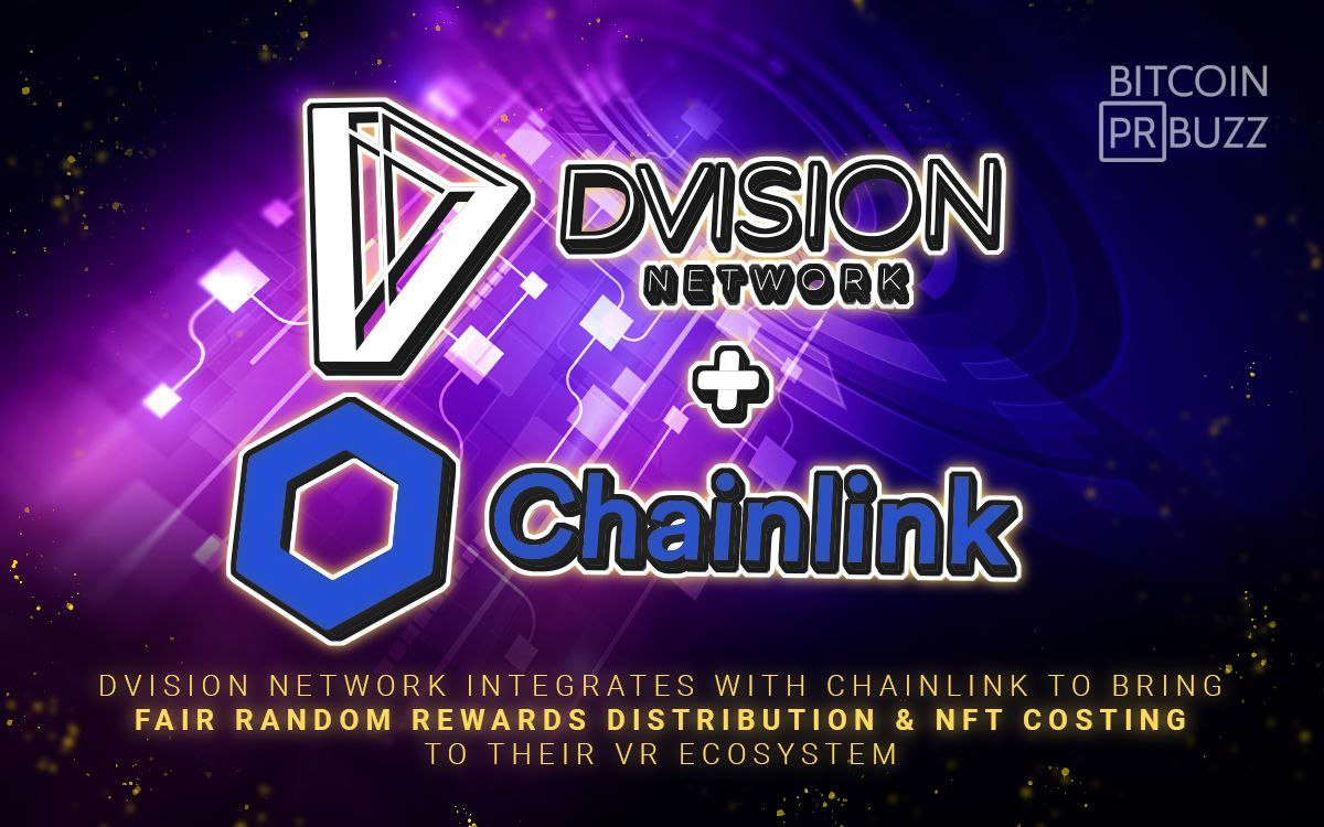 Dvision Network Integrates with Chainlink to Bring Fair Random Rewards Distri...
