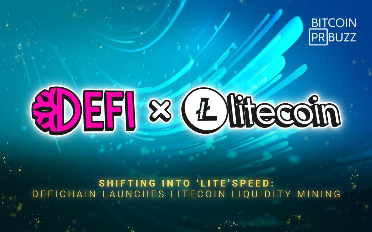Shifting into 'Lite'speed: DeFiChain Launches Litecoin Liquidity Mining