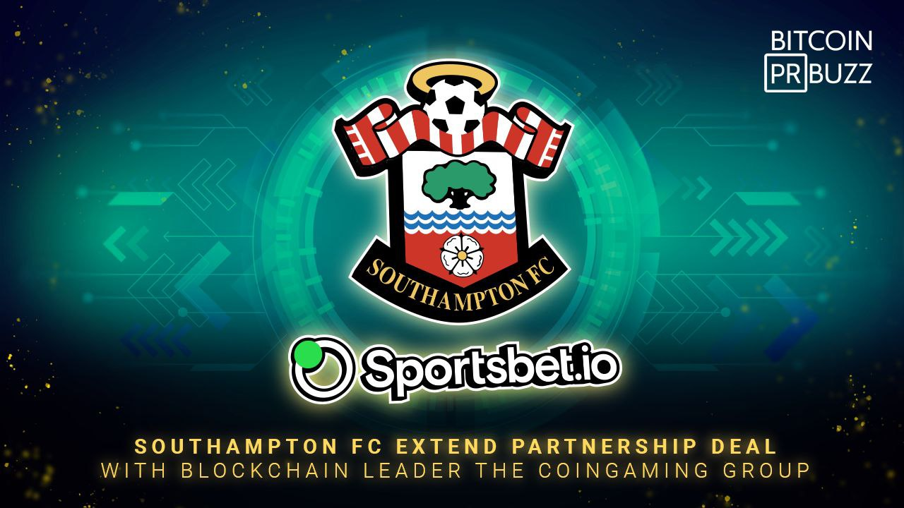 Southampton FC Extend Partnership Deal with Blockchain Leader The Coingaming ...