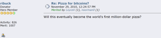 pizza for bitcoin - example of how social media affects crypto