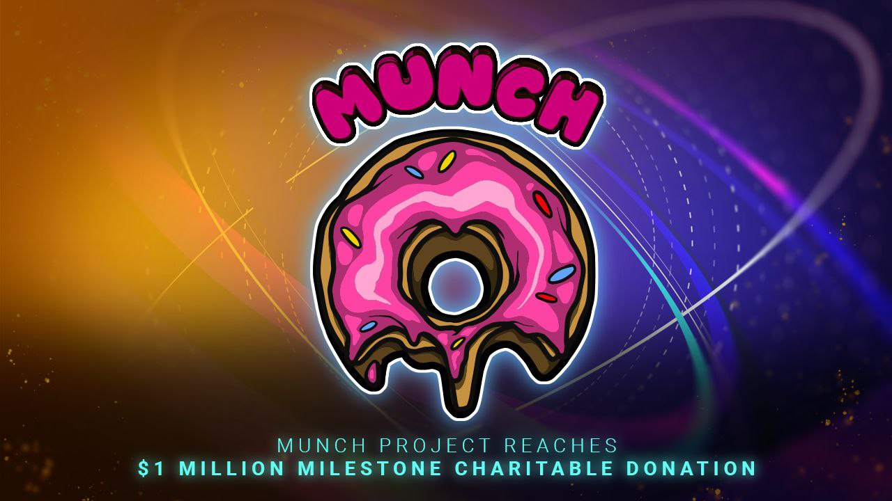 MUNCH Project Reaches $1 Million Milestone in Charitable Donations