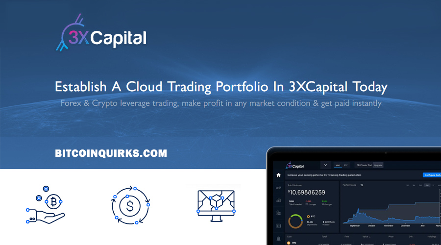 3x Capital - Bitcoin BTC Investment & Trading Platform