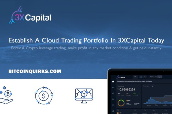 3x Capital - Bitcoin BTC Investment & Trading Platform
