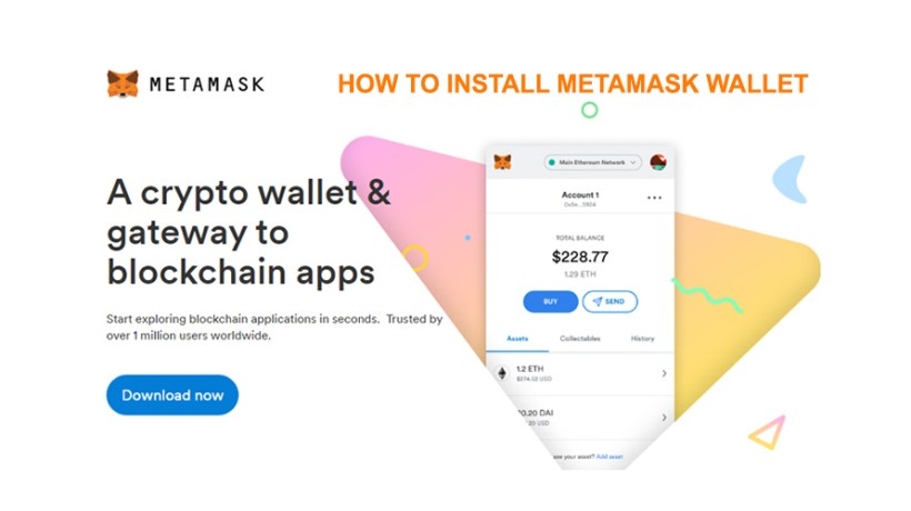 How To Install MetaMask Ethereum and ERC-20 Wallet