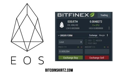 Americans Can Pick Up EOS Tokens On BITFINEX