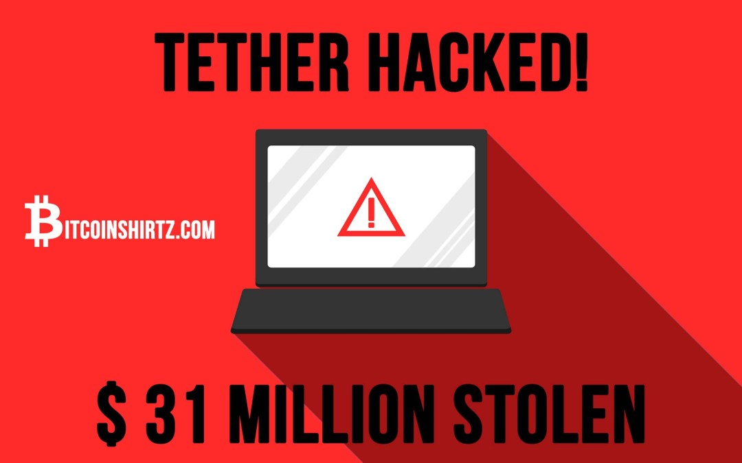 Tether Just Got Hacked! Thief Runs Off With $31 Million In Crypto