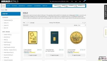 Buy a range of gold bars and coins from mints around the world