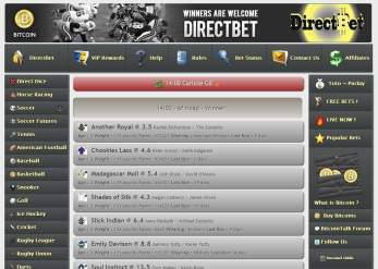 Bet on horse races from Europe and North America
