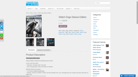Pick your game. I choose Watch Dogs by Ubisoft