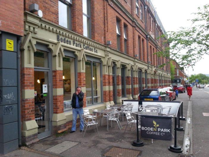 Boden Park Coffee in Belfast Credit BANI.org.uk