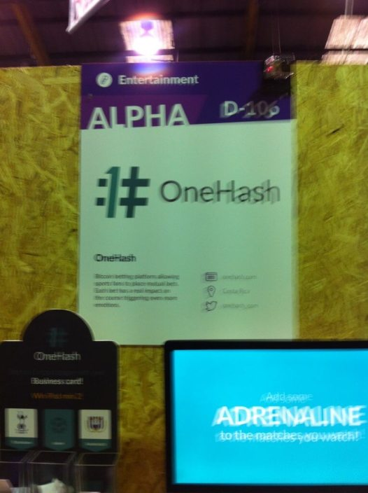 onehash-websummit-booth