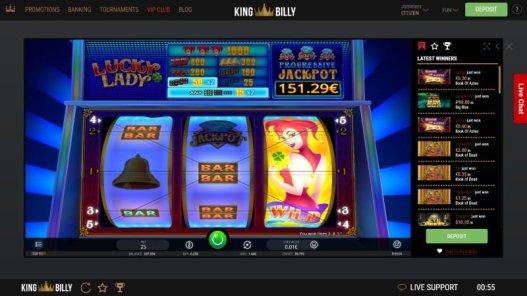 Lucky Lady Jackpot Slots