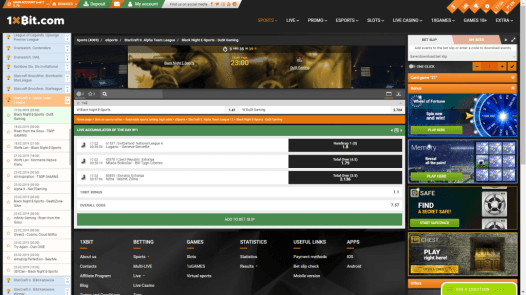 Quite a substantial number of esports betting options