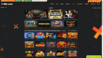 A huge selection of slots