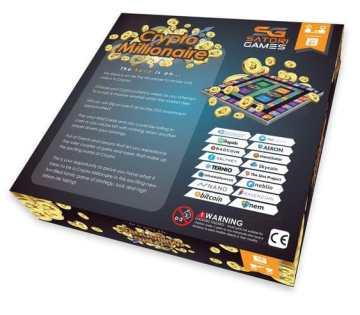 Rear of Crypto Millionaire Box