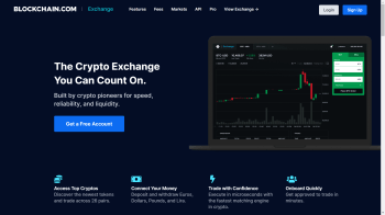 blockchain-exchange-homepage