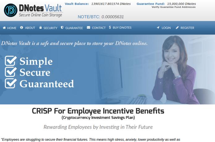 DNotes CRISP For Employees Screenshot
