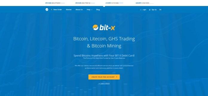 BitX Screenshot