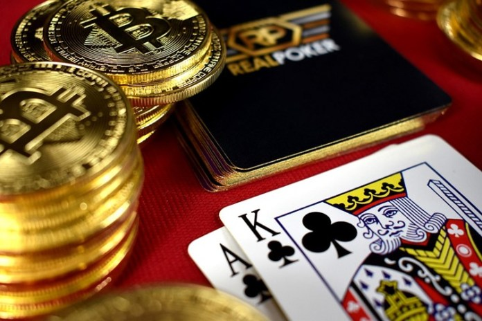 Image result for bit coin in gambling