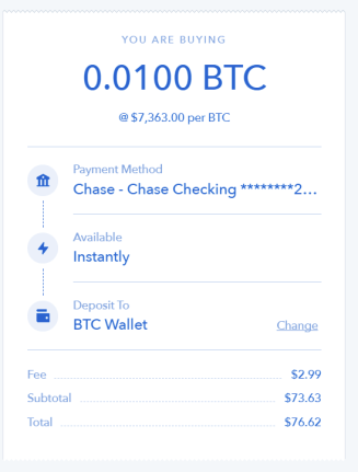 buy coinbase bitcoin