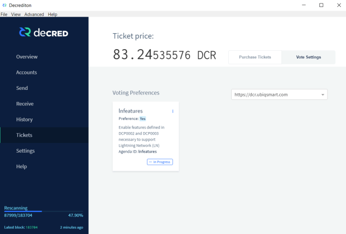 decred, wallet, cryptocurrency, altcoin, bitcoin, voting, pos, pow