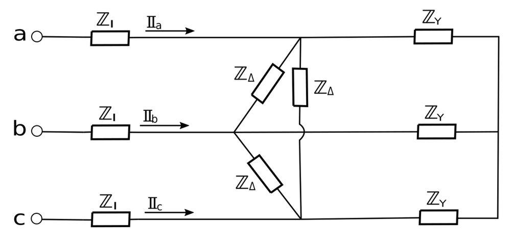 Balanced Y-Delta Connections (example problem)