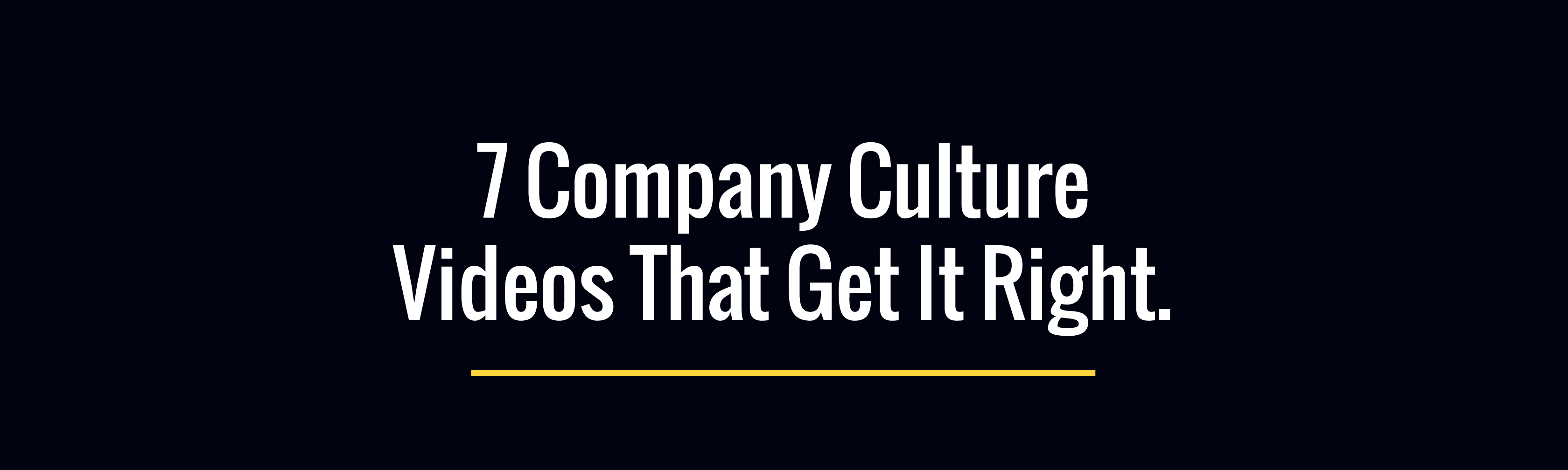 7 Company Culture Videos That Get It Right Biteable