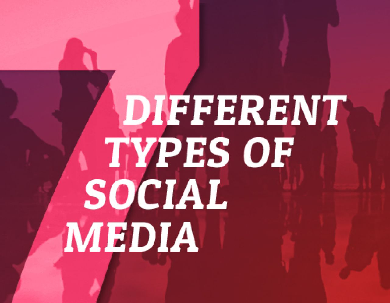 The 7 Different Types Of Social Media  Biteable