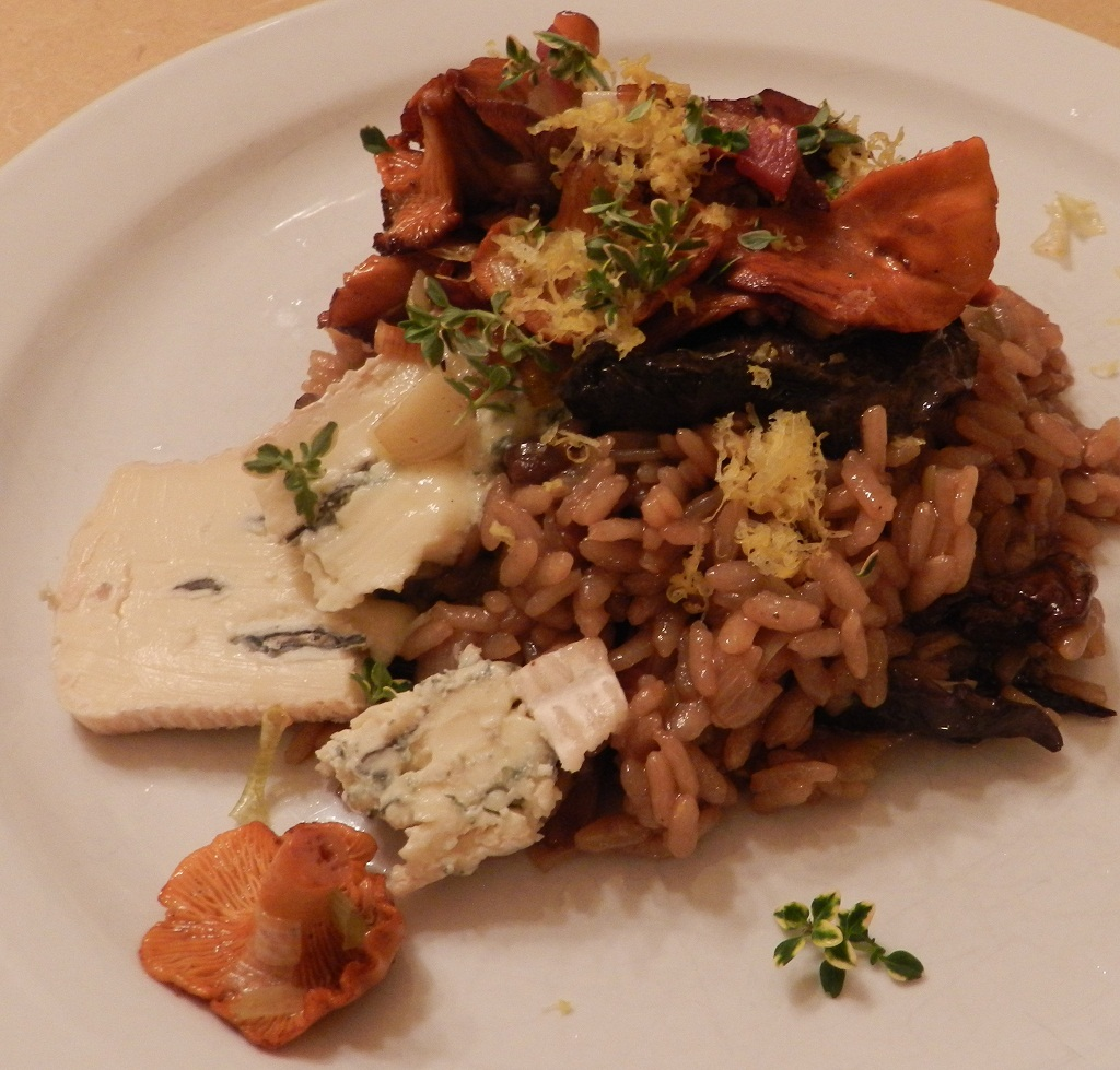 Risotto with Autumn Wild Chanterelle