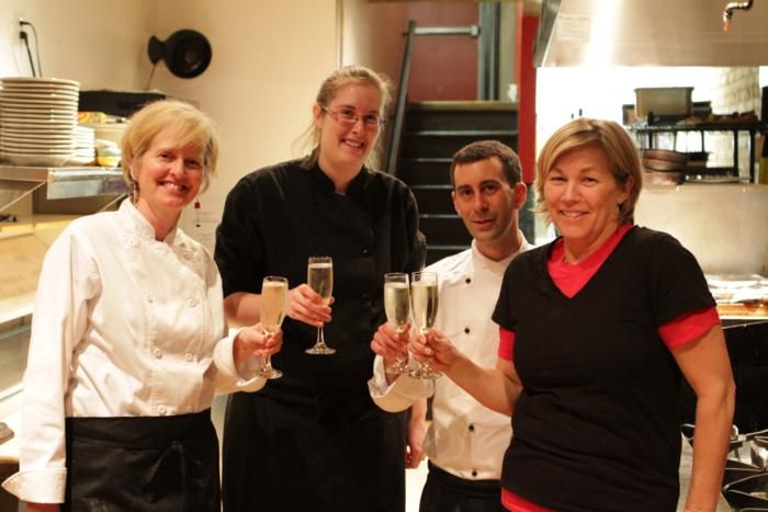 The opening of Italian by Night – what a team!