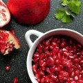 pomegranate and clemetine salsa