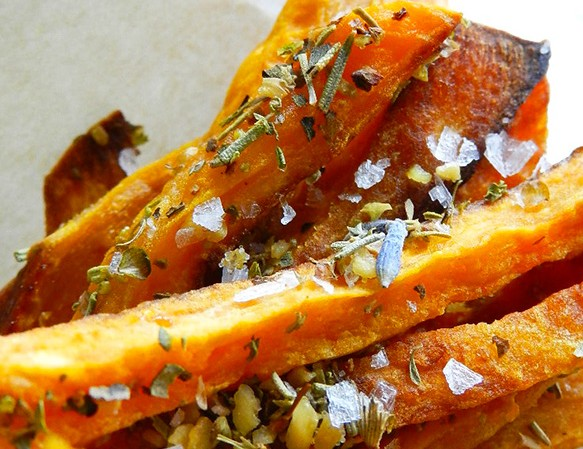 sweet potato fries a la Provence
