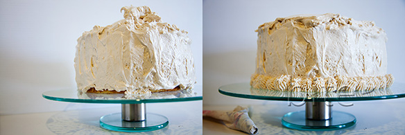 triple decker coconut cake