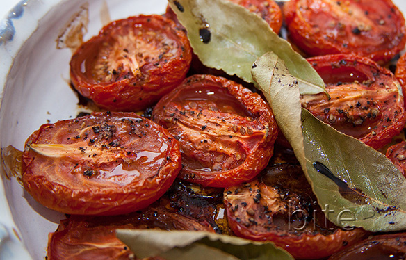 slow roasted tomatoes – it's a boy!