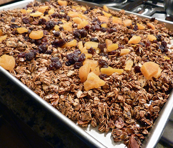 Chunky Chewy Granola
