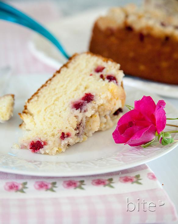 Rasberry Streusel Cake