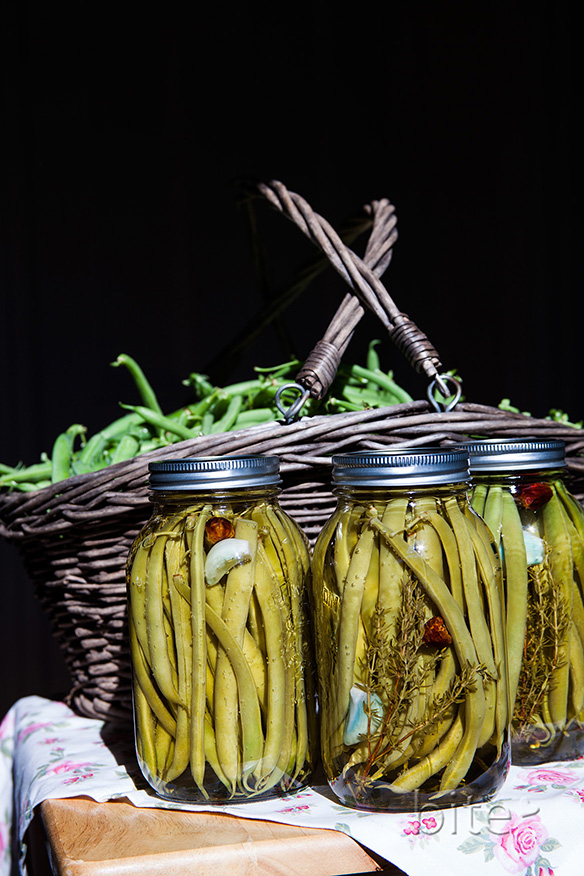 Italian Green Bean Antipasta