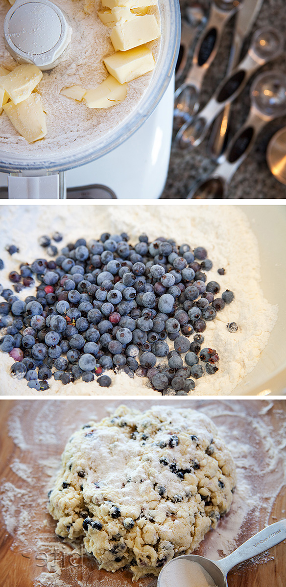 Wild Blueberry Scones